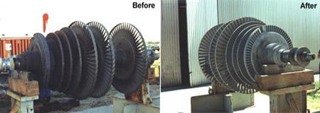 Turbine Blasting   Tex Blast Sandblasting